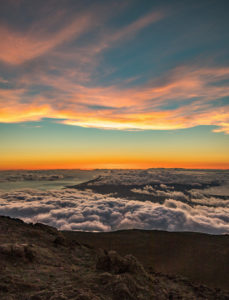 Maui Summit Sunset